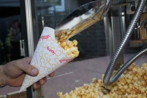 Popcornkraam in België?
